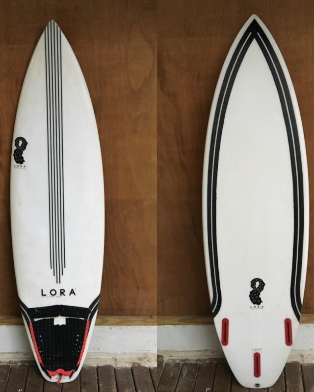 "Lora Surfboards 5'11 x 19.3"" x 2.3""-28L"